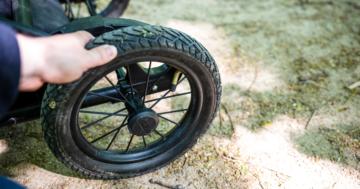 Kinderwagen-Reifen
